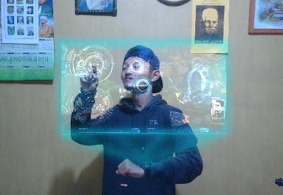 Tutor Buat Efek Hologram Ironman di PicSay Pro Android