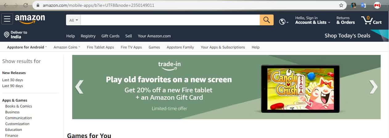 Top 20 Best Free APK Android App Download Site Amazon