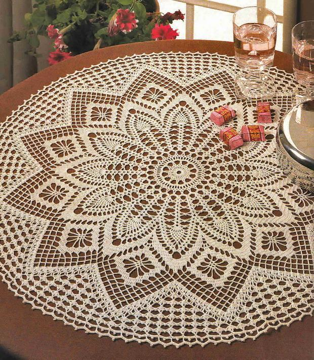 crochet doily tablecloth crochet pattern is available, centerpiece