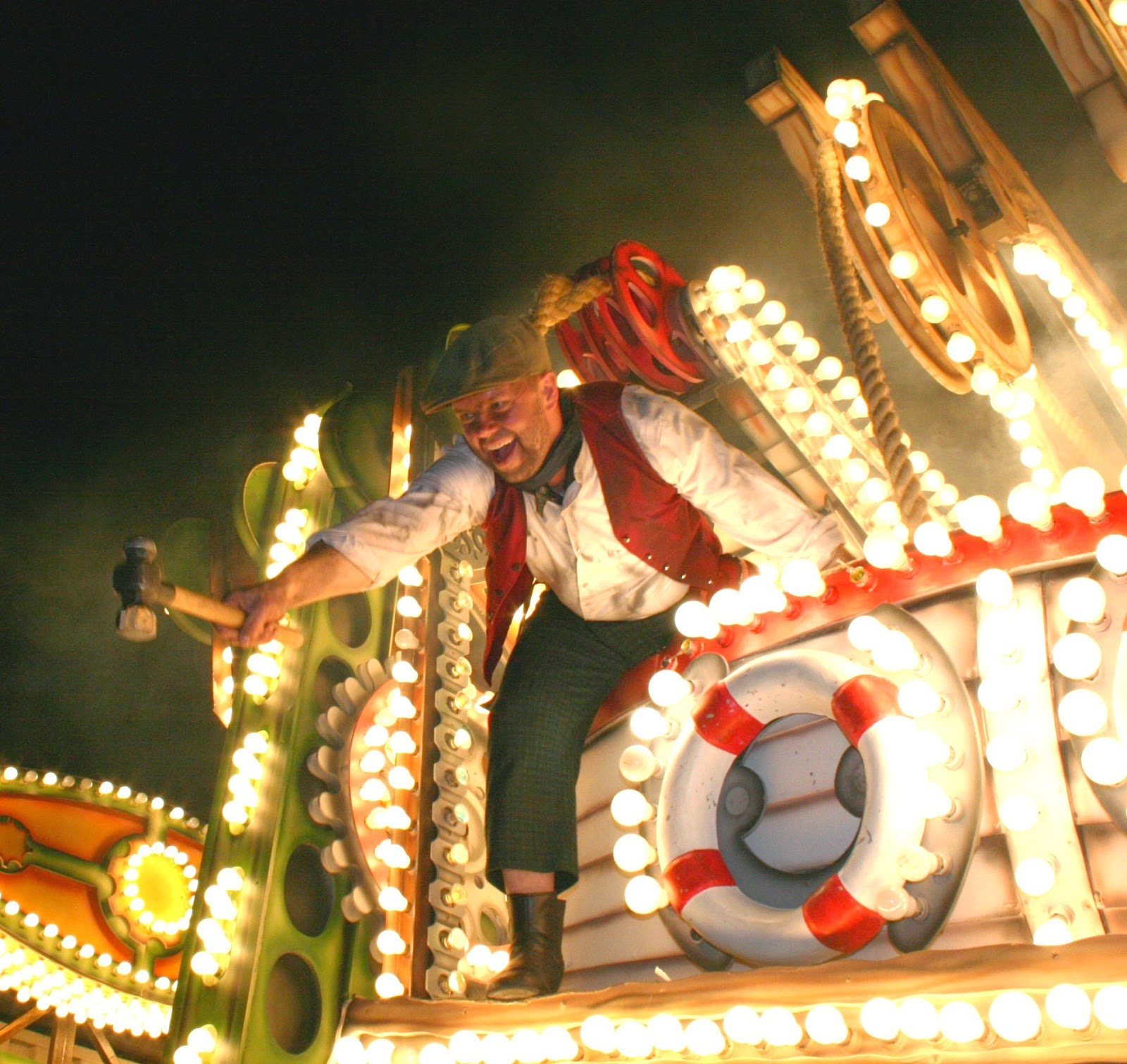 Somerset Carnival Season 2014 - Gremlins Carnival Club with 'Brunel's Kingdom- The Shipyard'