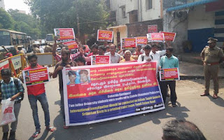 Clamour in Tamil Nadu against the deaths of Jaffna Uni students-200 arrested