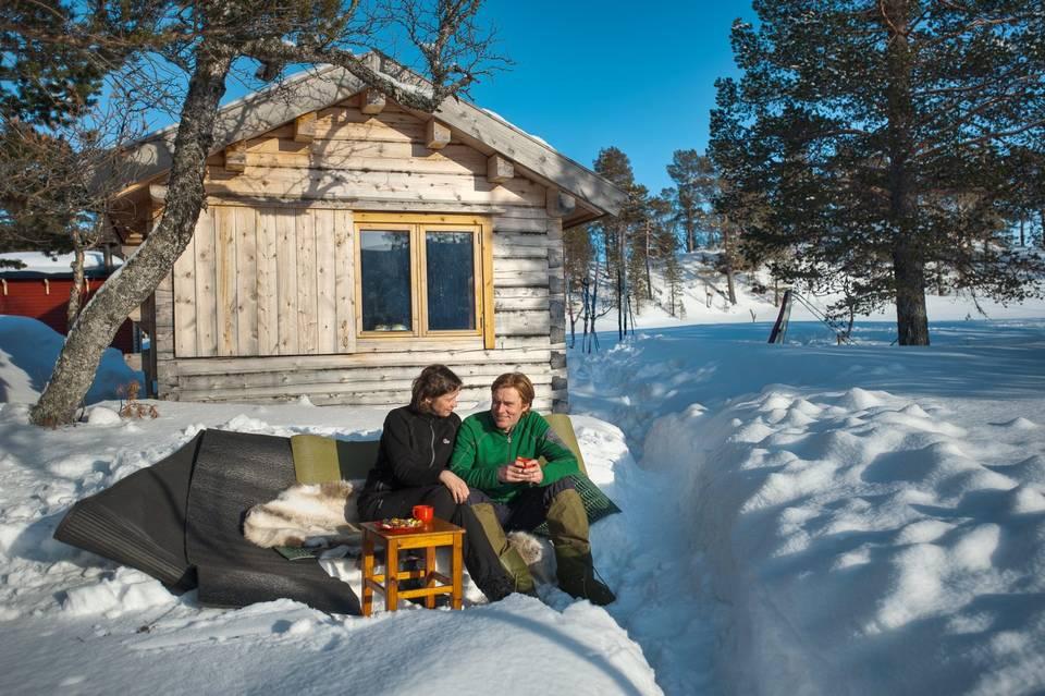 Tiny house town norwegian ski cabin 118 sq ft for Ski cottage