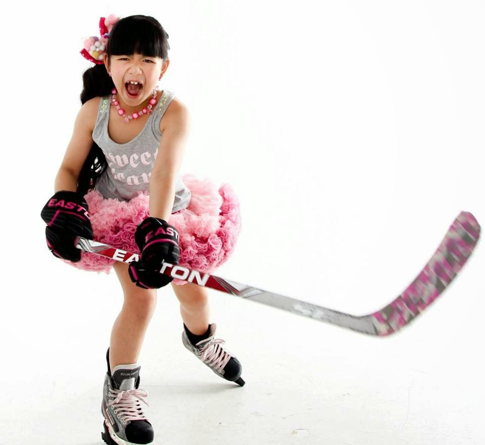 Cute Hockey Player