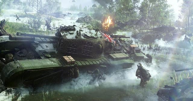Старт закрытого альфа-теста Battlefield V