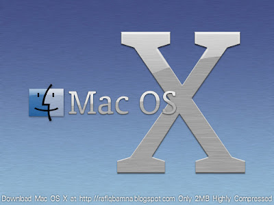 Master File: Mac OS X Live DVD Only 2MB Highly Compressed