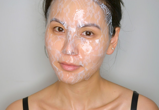 Banila Co. It Radiant Lace Hydrogel Mask Sheet Review