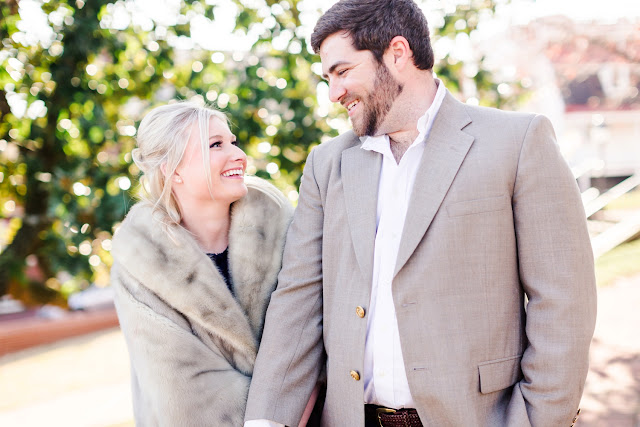 A Sunny Winter Engagement Session in Downtown Annapolis with Lauren & Zach by Heather Ryan Photography