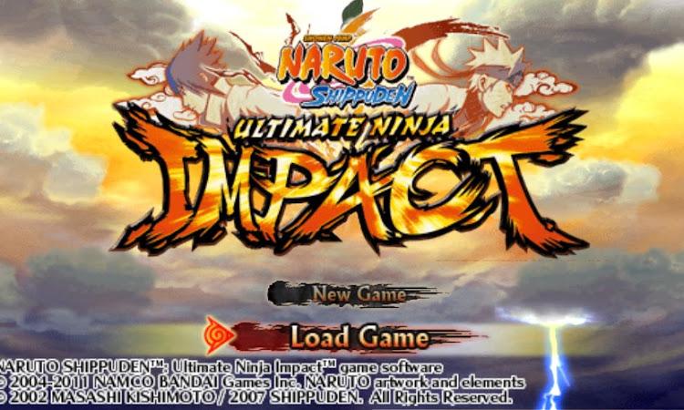 Download Save Data Naruto Shippuden Ultimate Ninja Impact USA [NSUNI] PPSSPP