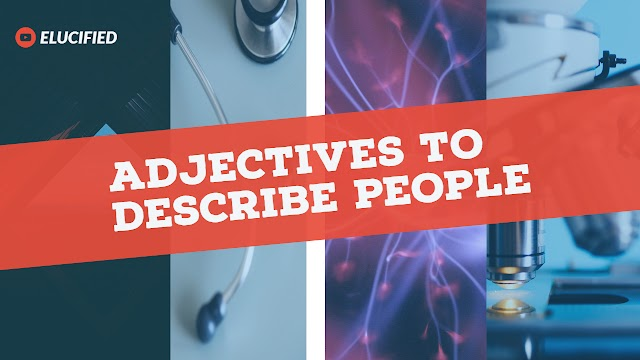 Adjectives to describe people -02