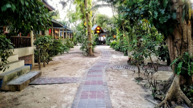 thailand village path