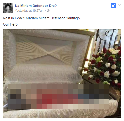 Miriam open casket photo