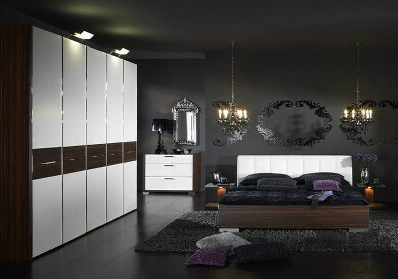 Bedroom Ideas Black And Grey