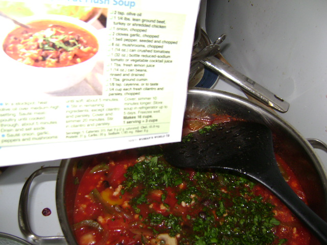 minestrone soup diet womans world