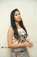 Actress Vanditha Stills in Short Dress at Kesava Movie Success Meet .COM 0042.JPG