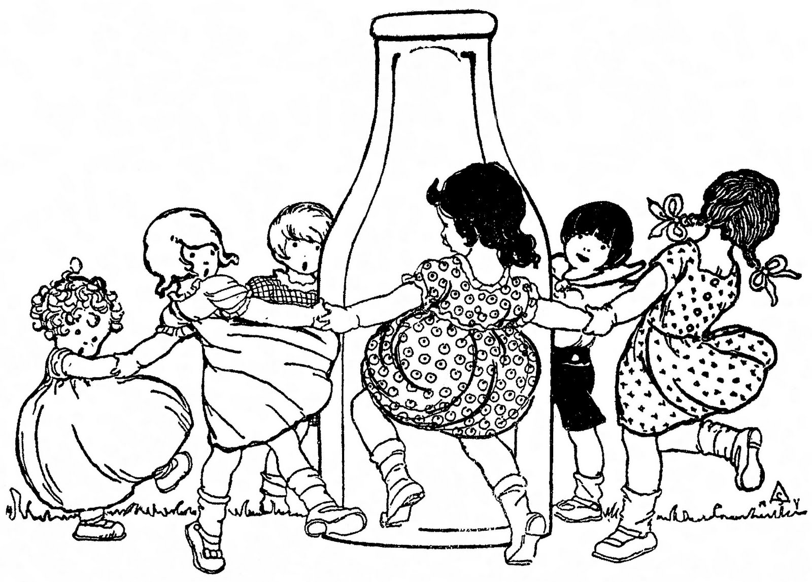 Dairy Month Coloring Pages | Coloring Pages