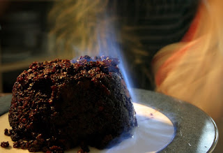 Christmas pudding by Matt Riggott