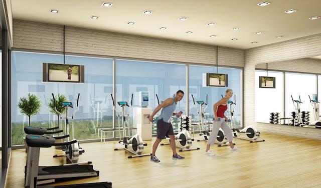Phòng Tập Gym Vincity Gia Lâm