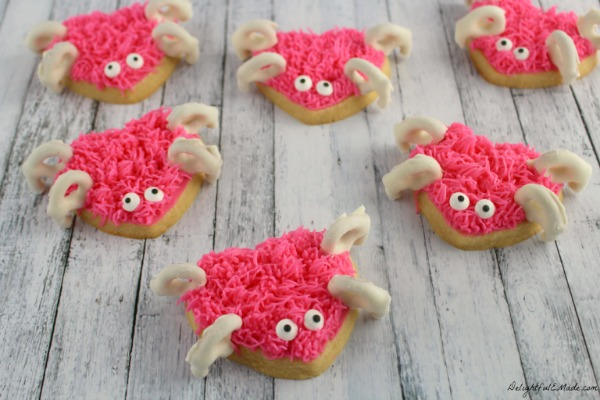 Love Bug Sugar Cookies - FEATURED