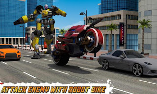 Moto Robot Transformation Apk v1.0 Mod (Unlocked)