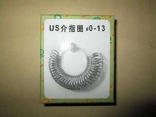 ring pengukur ukuran jari
