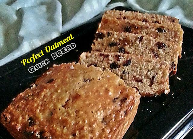 Perfect Oatmeal Quick Bread Recipe @ treatntrick.blogspot.com