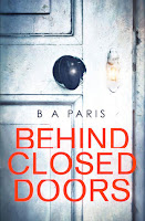 Behind Closed Doors, by B. A. Paris book cover and review