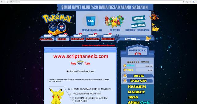 Pokemon Çiftligi Scripti Türkçe İndir