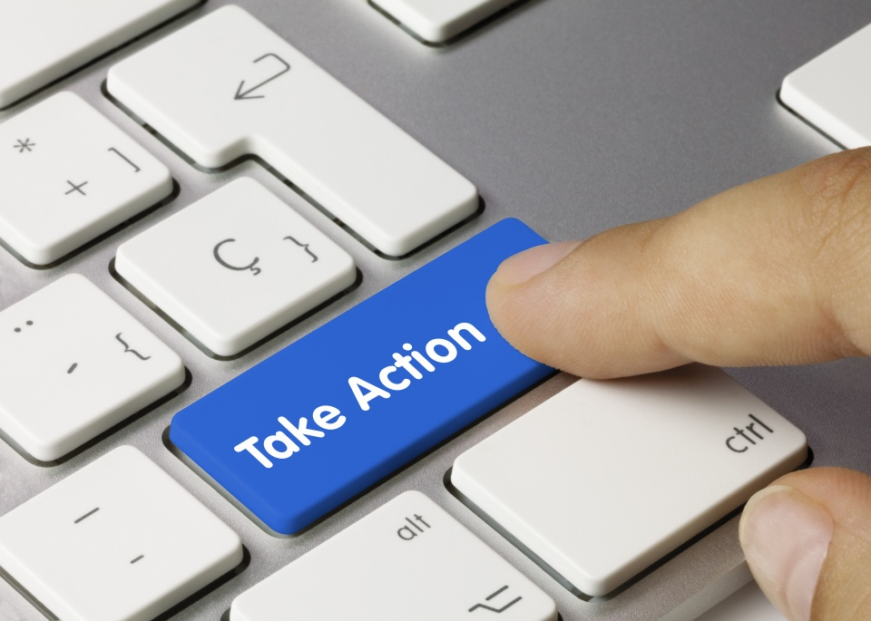 Content marketing take action