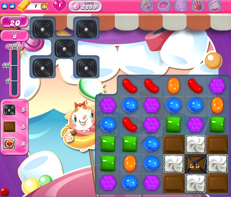 Candy Crush Saga level 2259