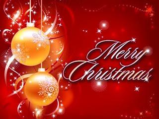Kartu Ucapan Natal Merry Christmas 80011