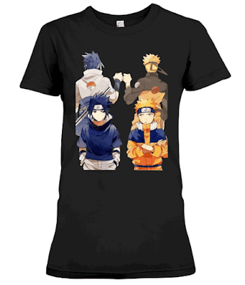 Naruto and Sasuke Best Friend T Shirt Hoodie