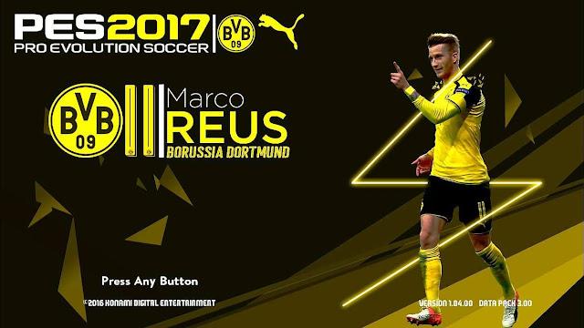 PES 2017 Marco Reus Startscreen by Naufal Adam