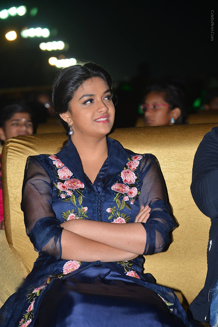 "Keerthy Suresh at ""Nenu Local"" Audio Launch"