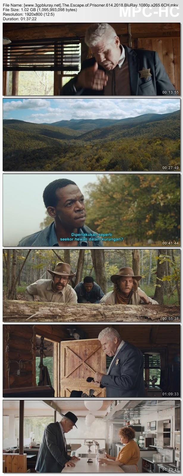 Screenshots Download Film Gratis Hardsub Indo The Escape of Prisoner 614 (2018) BluRay 1080p MP4 Subtitle Bahasa Indonesia 3GP