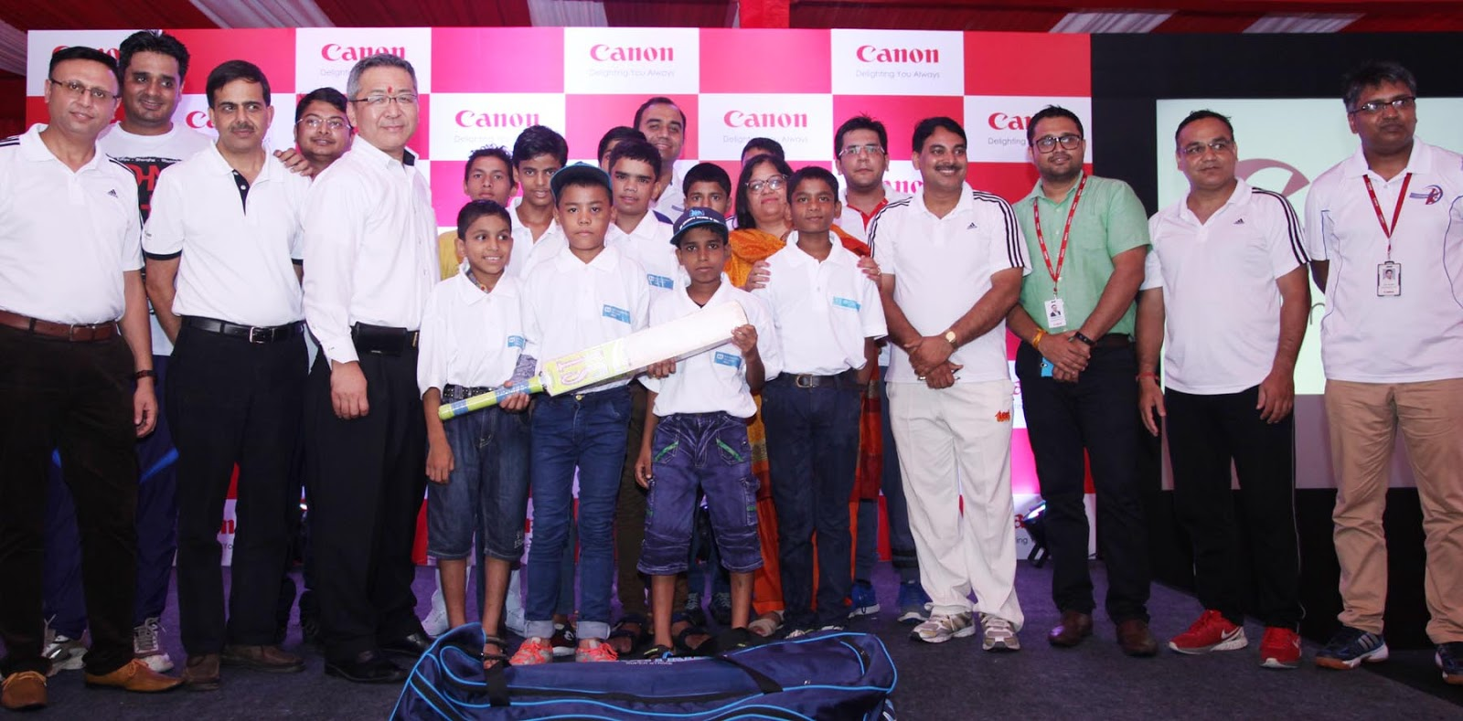 Canon India takes a leap in its social endeavour, leads way