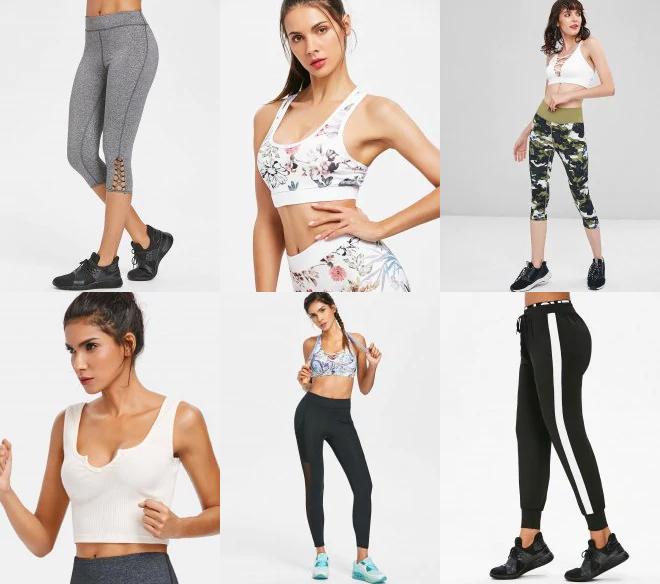 zaful gymwear