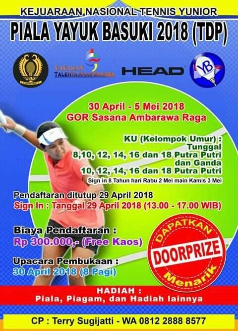 Kejurnas Tenis Yunior Piala Yayuk Basuki