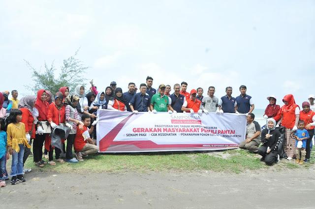 Sampoerna Indonesia Gelar Aksi Peduli di Pantai Kata