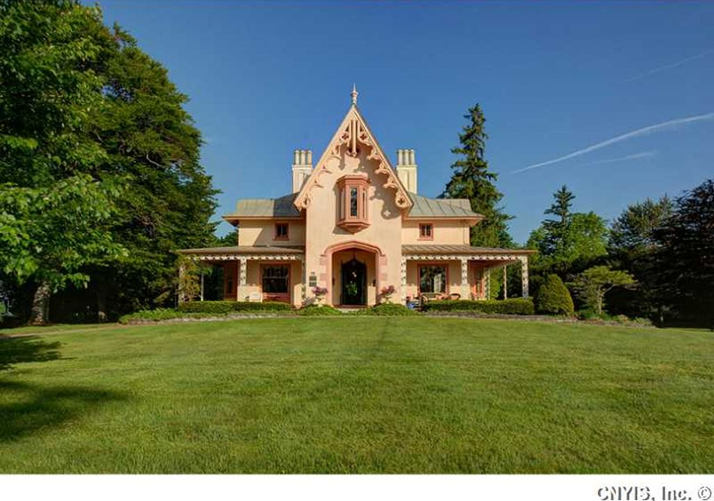 sweet house dreams 1840 s gothic revival on skaneateles lake in the