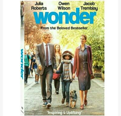 Movie - Wonder ~ Starring: Julia Roberts, Owen Wilson..