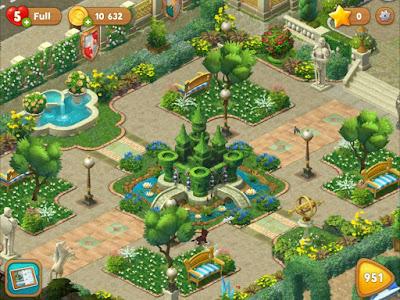 Gardenscapes screenshot 5