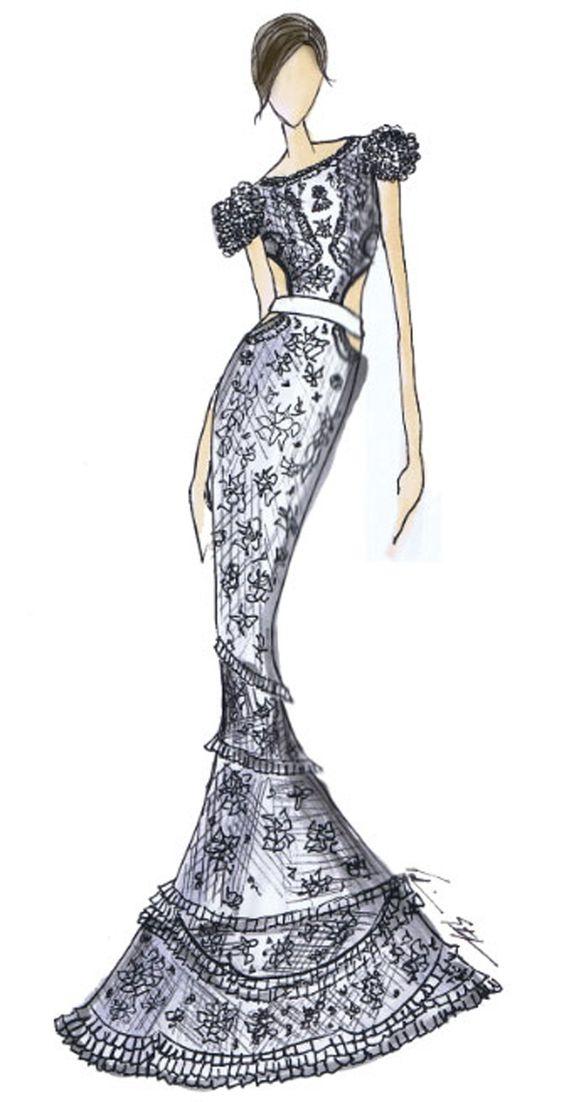 2019 Fiesta De Dibujar Elegantes Vestidos Cortos Para Suzqgmvp
