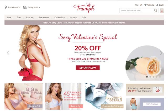 Triumph Malaysia Website, Shop NOW!