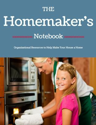 Homemaker's Notebook: organizing and homemaking