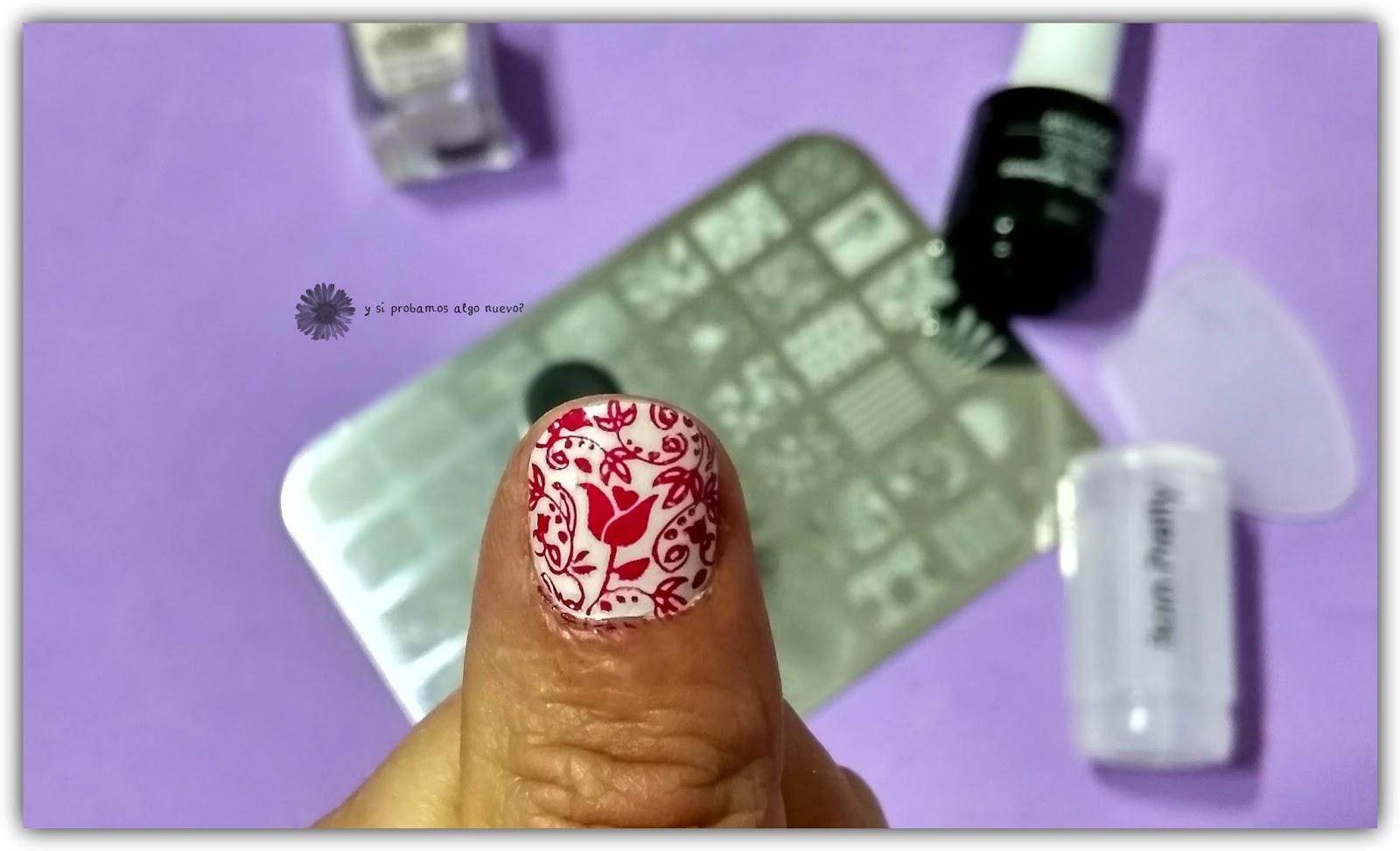 Esmalte colour & care de Essence y manicura