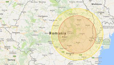 földrengés, INFP, Románia, Székelyföld, Kovászna, Kézdivásárhely
