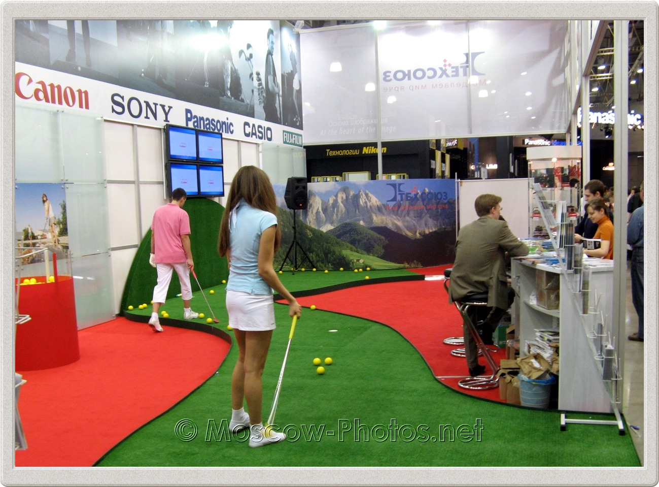 Golf at Photoforum - 2008, Moscow