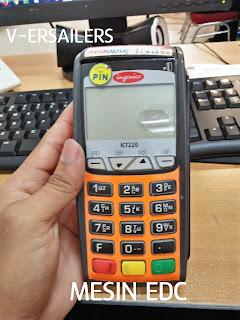 Cara mengganti kertas mesin edc tutorial isi ulang kertas pada mesin edc kartu debit credit card bni bri inggenico indopay paper roll