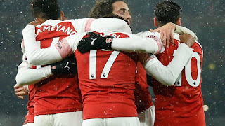 arsenal 2-1 cardiff city
