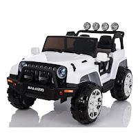 jeep rubicon xl battery toy car
